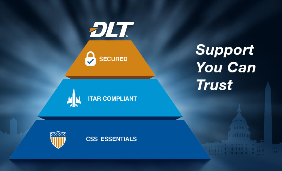 DLT - Secured - ITAR compliant - CSS Essentials - Support You Can Trust
