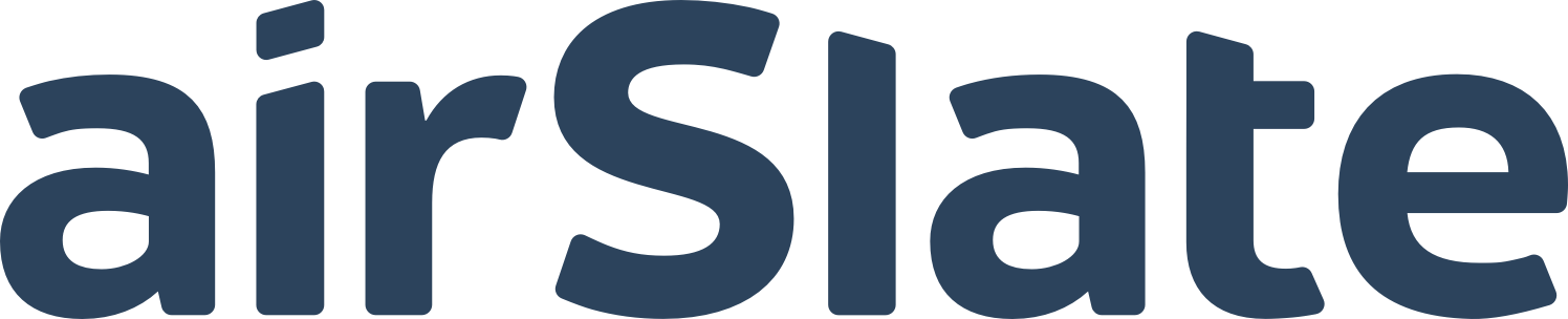 Logo for AirSlate