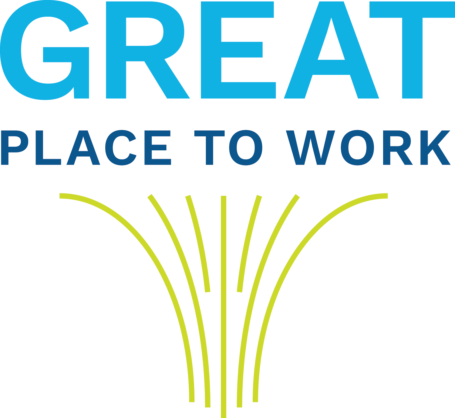 Text Reads: Great Place to Work