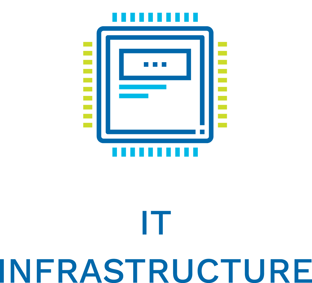 Icon for IT Infrastructure