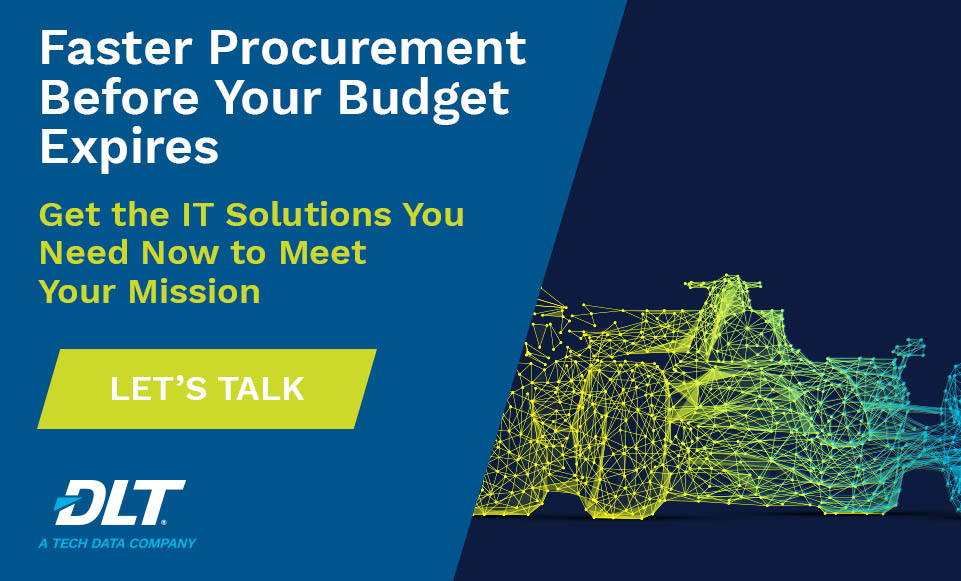 FFYE 2020. Text Reads: Faster Procurement Before Your Budget Expires