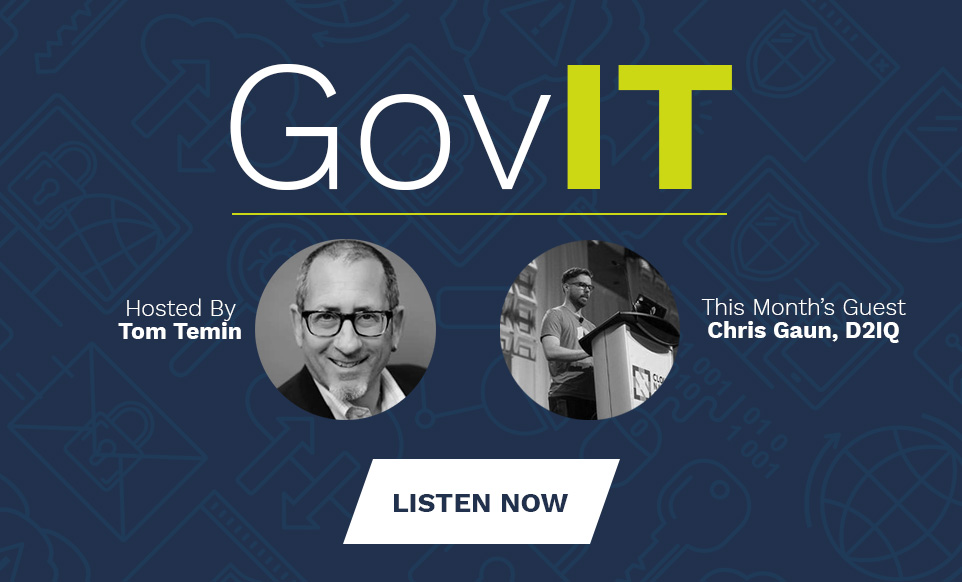 The first episode of DLT's GovIT podcast.
