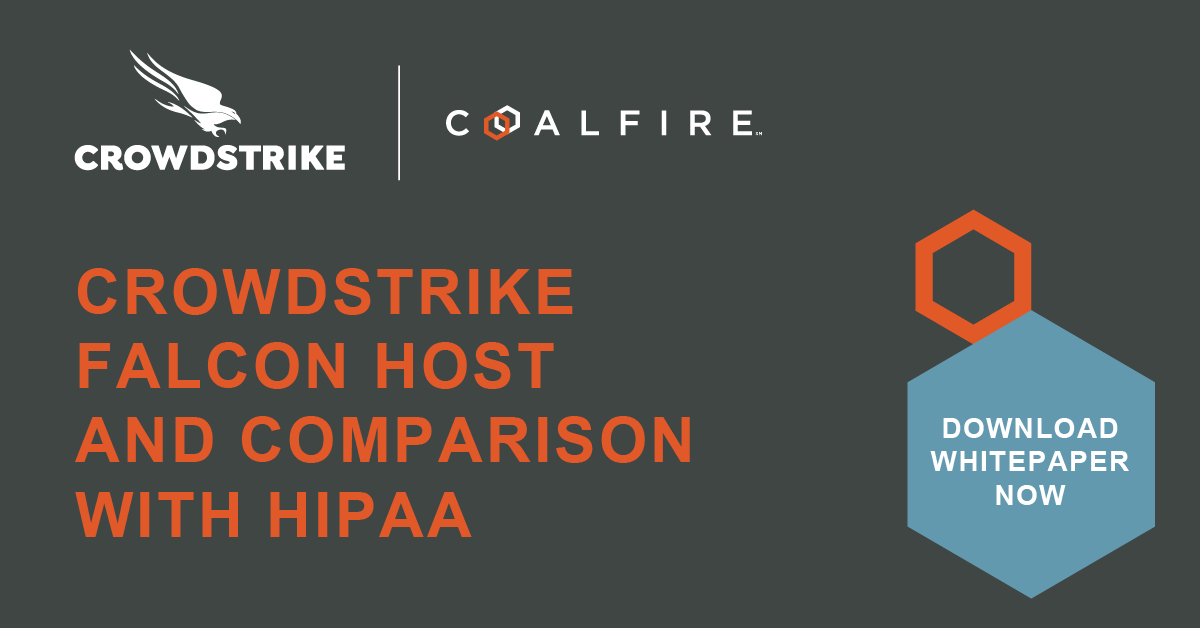 CrowdStrike Falcon and HIPAA Compliance