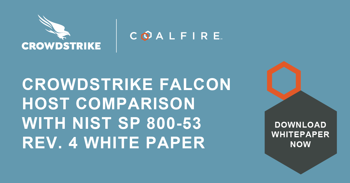 CrowdStrike Falcon Host Comparison with NIST SP 800-53 Rev. 4