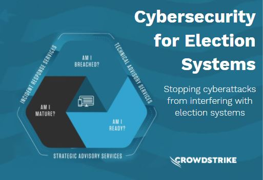 Text Reads: Cybersecurity for Election Systems