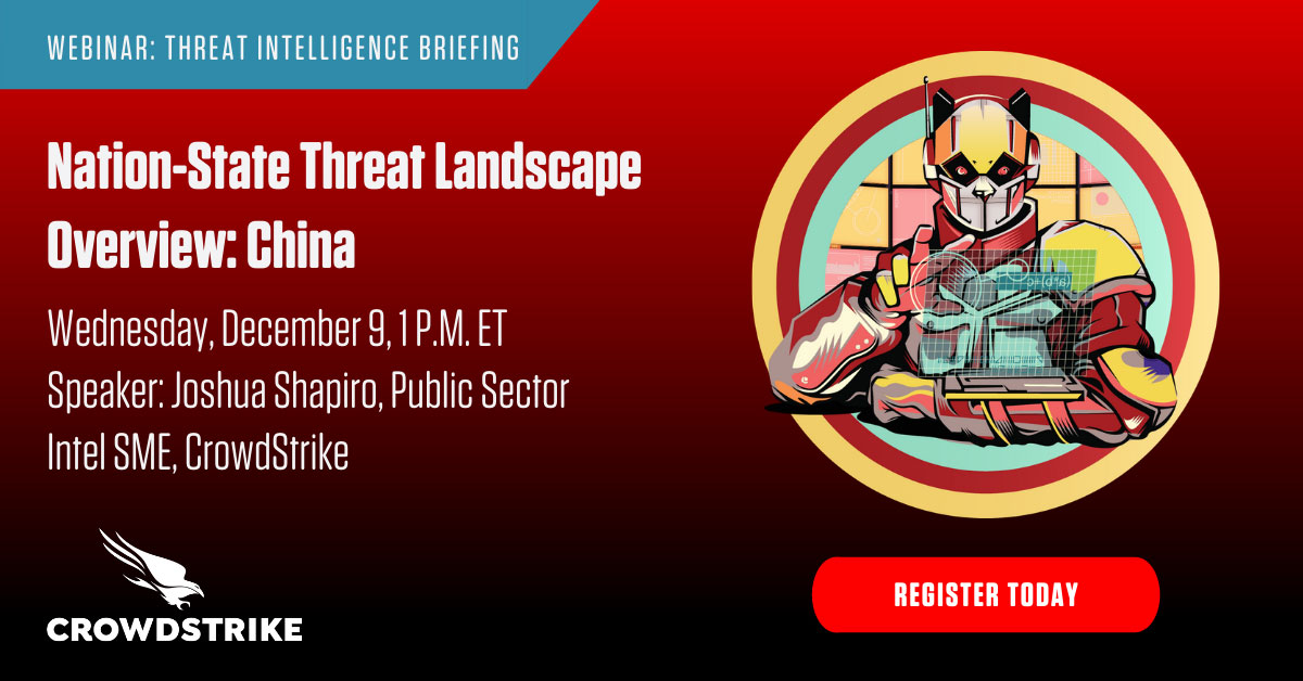 Nation-State Threat Landscape Overview: China