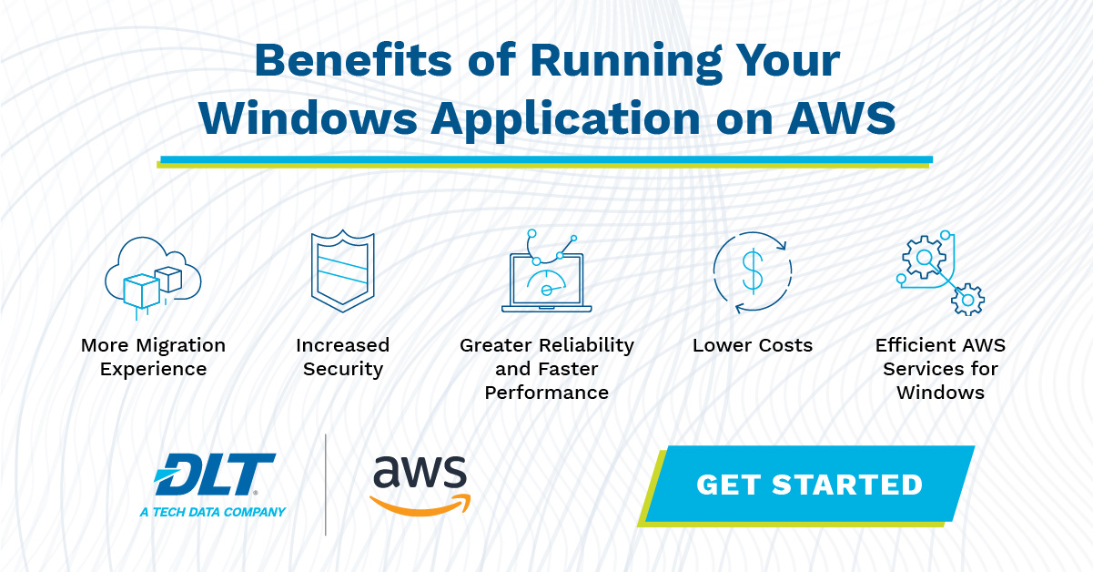 Benefits of running your Windows Applications on AWS