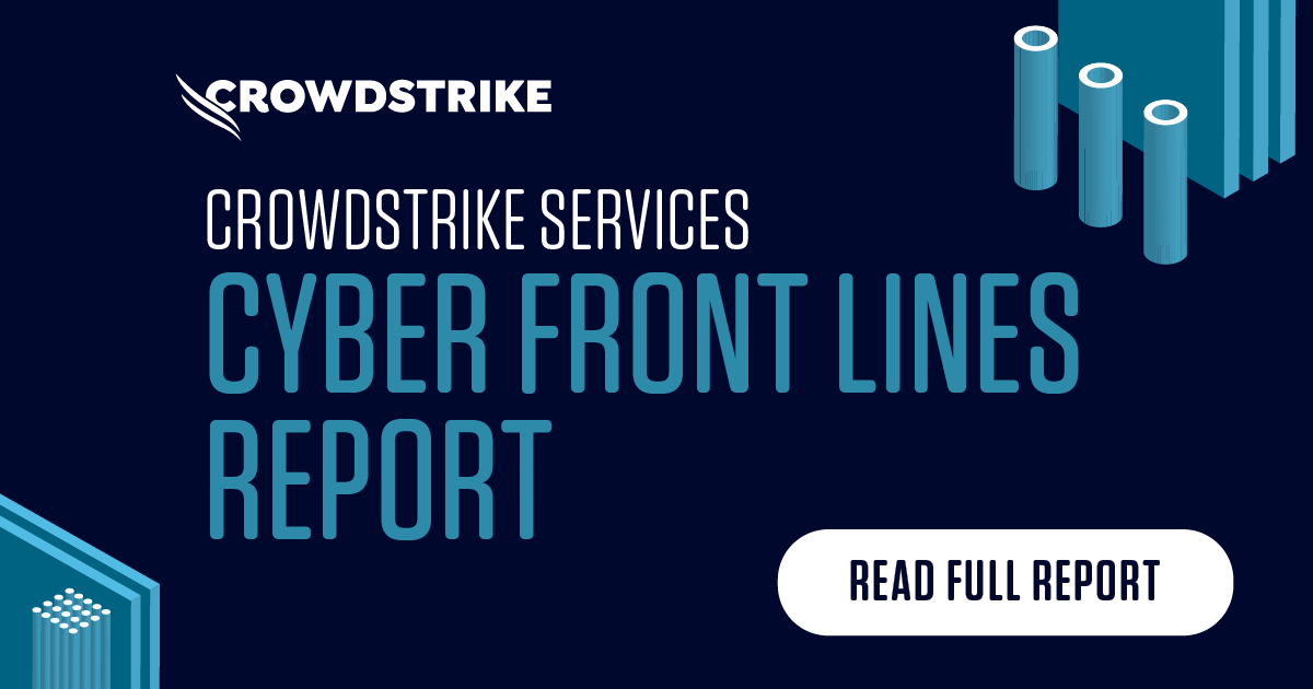 CrowdStrike Services Cyber Front Line Report
