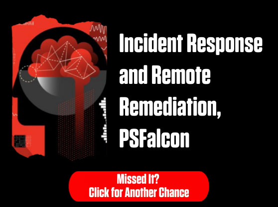 Incident Response and Remote Remediation, PSFalcon