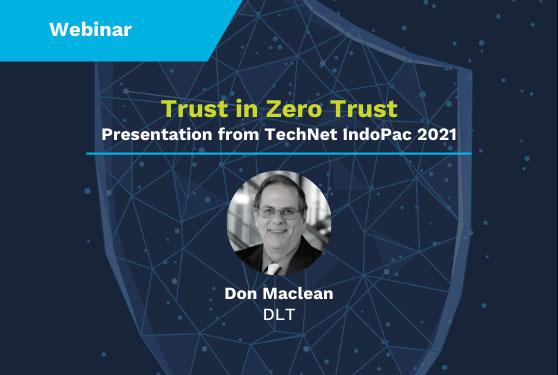 Trust in Zero Trust presentation
