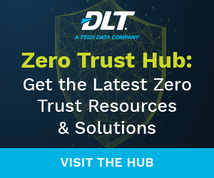 Ad on Cyber page for Zero Trust hub. Text reads: Get the latest Zero Trust Resources and Solutions