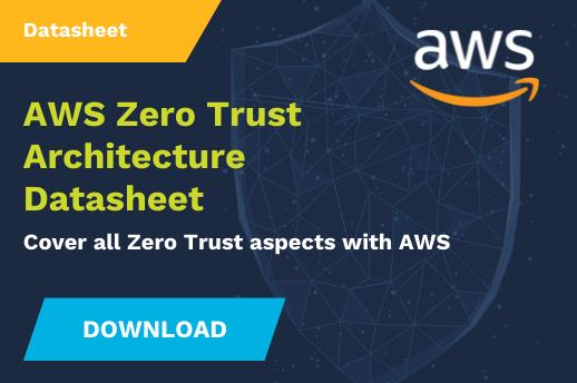 Zero Trust Architecture Coverage With Amazon Web Services