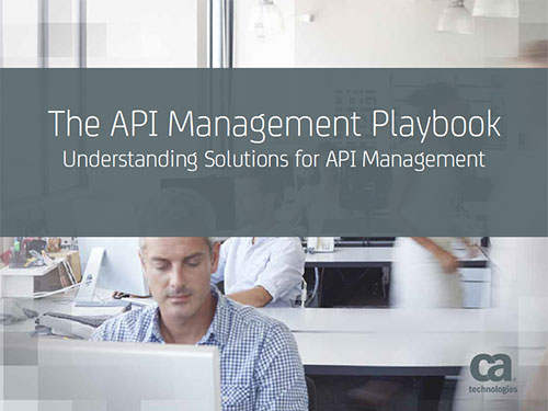 Cover of The API Management Playbook: Understanding Solutions for API Management eBook