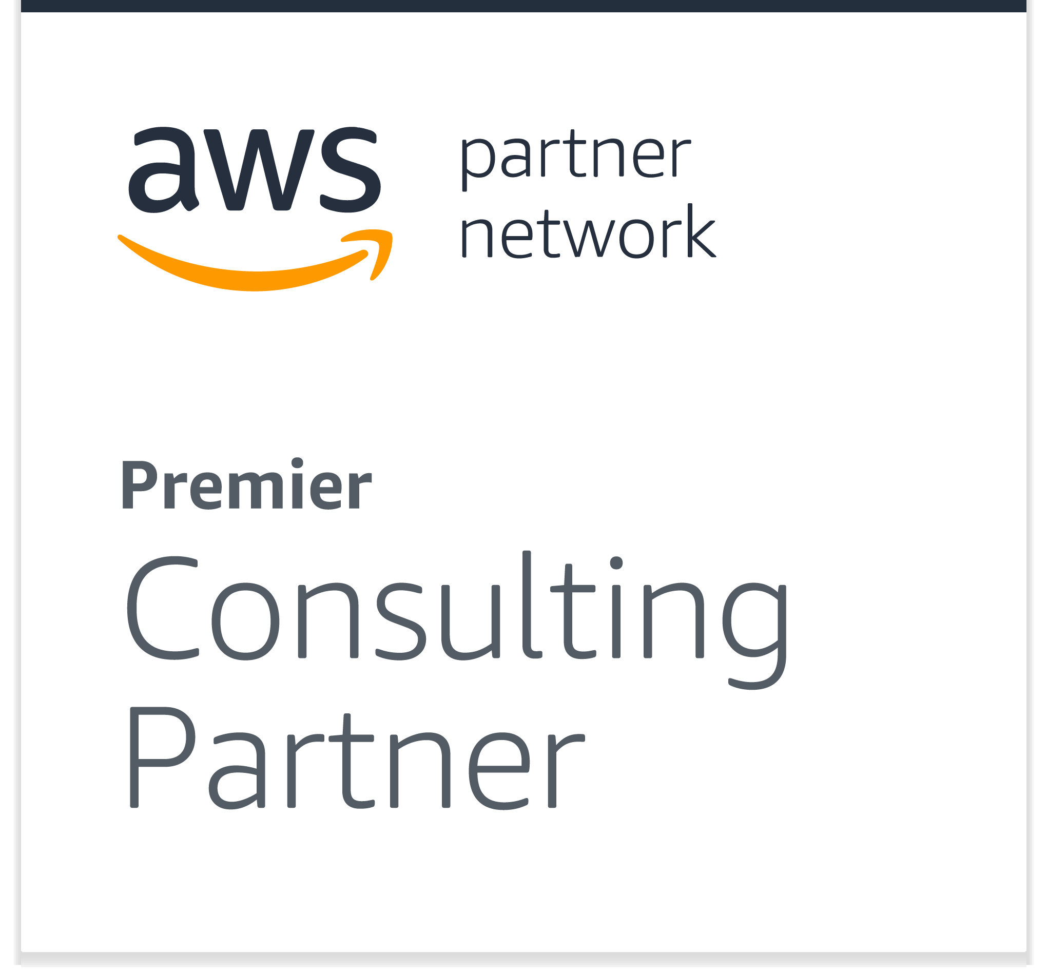 Amazon Web Services Partner Network: Premier Consulting Partner