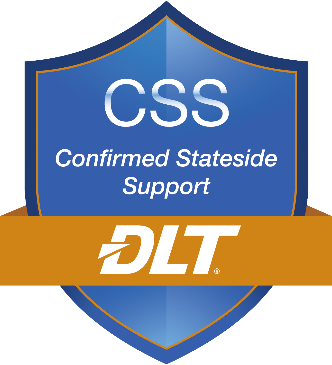 Confirmed Stateside Support badge graphic