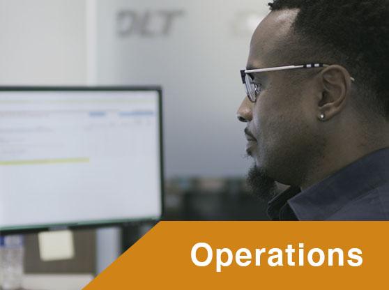 DLT Operations staff at work