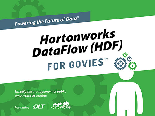 Cover image of Powering the Future of Data: Hortonworks DataFlow for Govies eBook