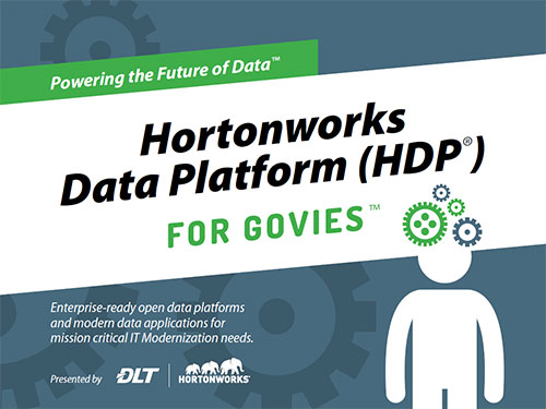 Cover image of Powering the Future of Data: Hortonworks Data Platform (HDP) for Govies eBook