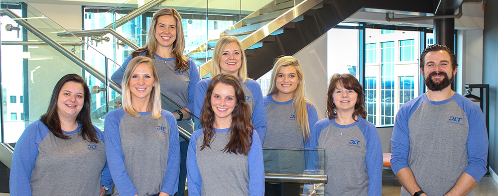 Group photo of DLT HR team