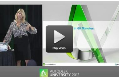 7 On-Demand Autodesk University 2013 Classes that Govies Shouldn't Miss