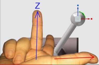 New to the 3D Environment? Understand the Right Hand Rule for Autodesk 3D