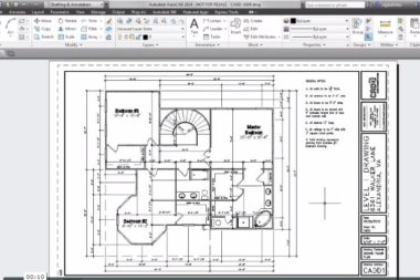 Creating AutoCAD Plot Stamps with Fields
