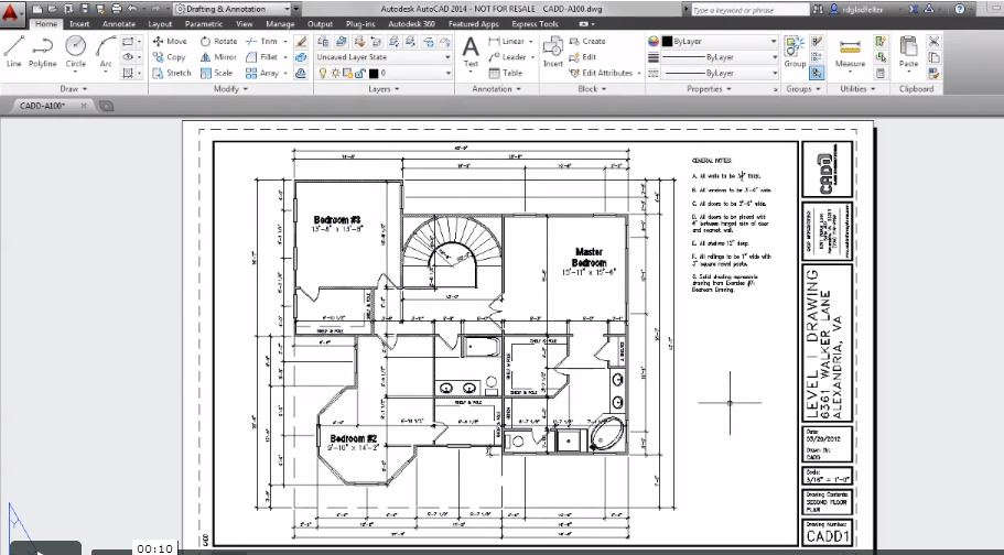 Creating autocad plot stamps with fields dlt blog for Plot plan drawing software