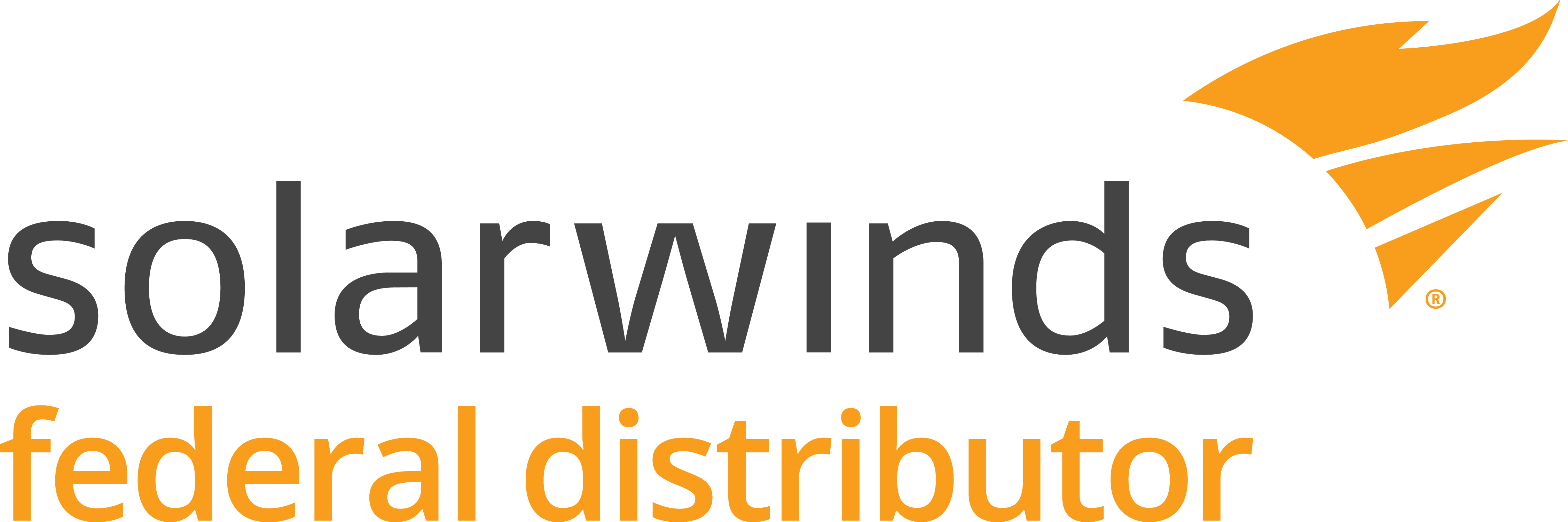 Logo for Solarwinds Federal Distributor