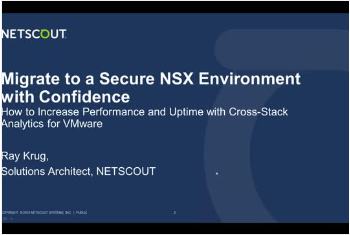 Thumbnail of cover of Migrate to a Secure NSX Environment with Confidence