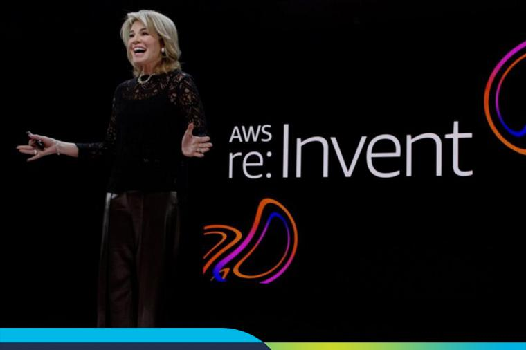 Teresa Carlson on AWS reInvent Stage