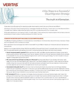 Thumbnail for 4 Key Steps to a Successful Cloud Migration Strategy