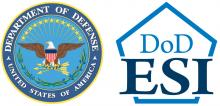 Logo for DoD ESI and DoD Seal