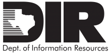 Logo for the State of Texas Department of Information Resources